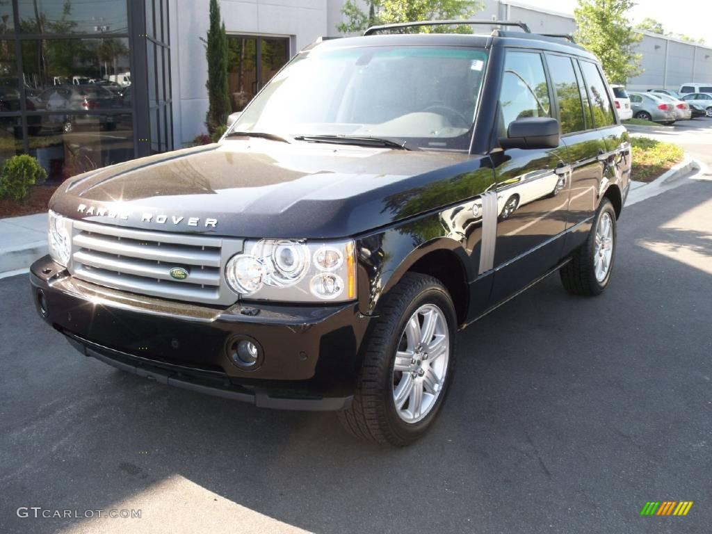 2007 Range Rover HSE - Java Black Pearl / Charcoal photo #12