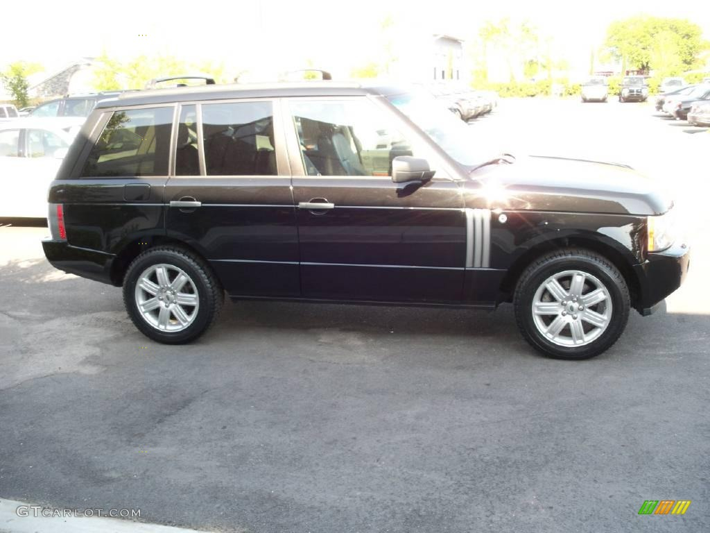 2007 Range Rover HSE - Java Black Pearl / Charcoal photo #14