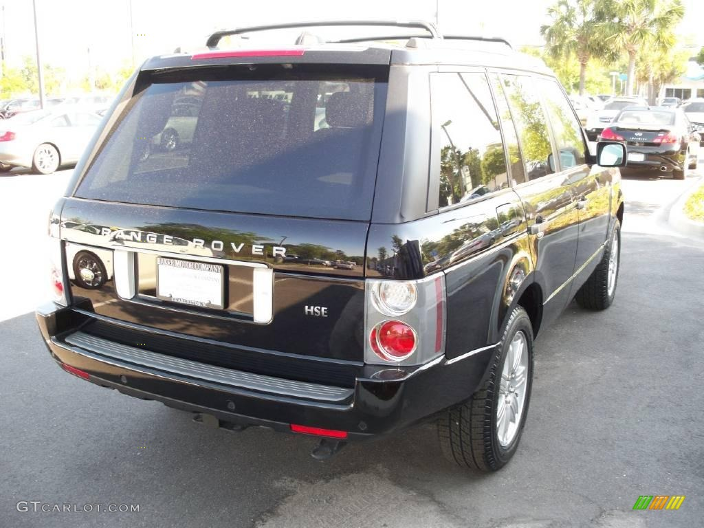 2007 Range Rover HSE - Java Black Pearl / Charcoal photo #15