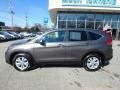 2014 Urban Titanium Metallic Honda CR-V EX AWD  photo #2