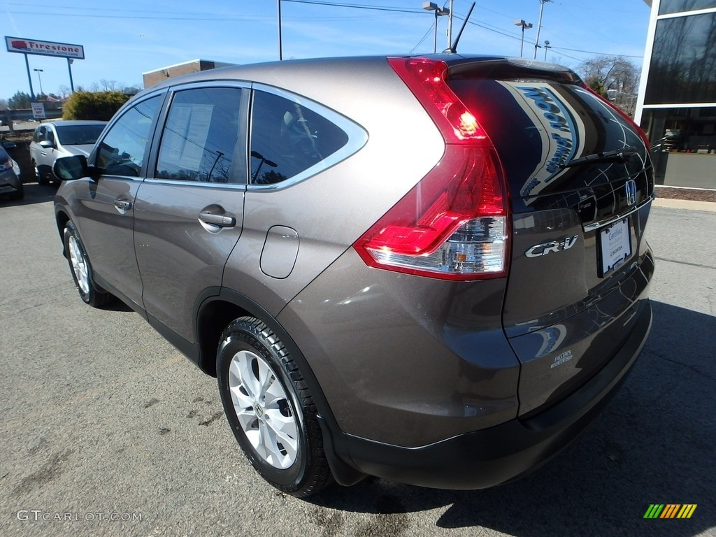 2014 CR-V EX AWD - Urban Titanium Metallic / Black photo #3