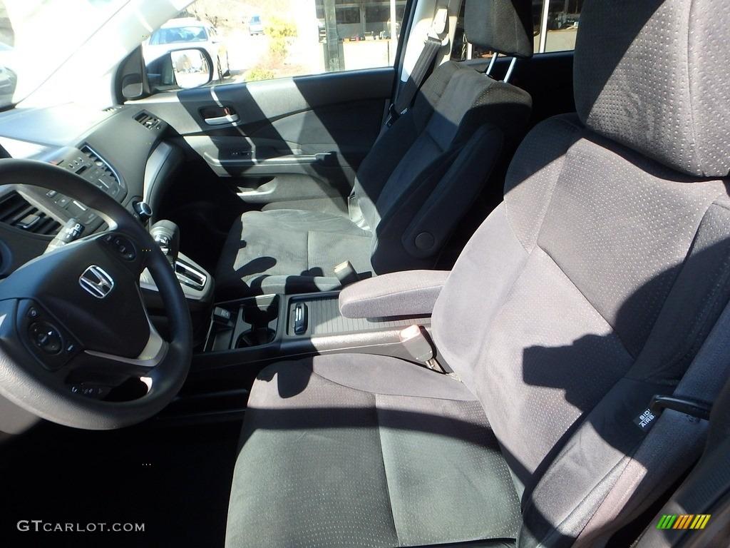 2014 CR-V EX AWD - Urban Titanium Metallic / Black photo #15