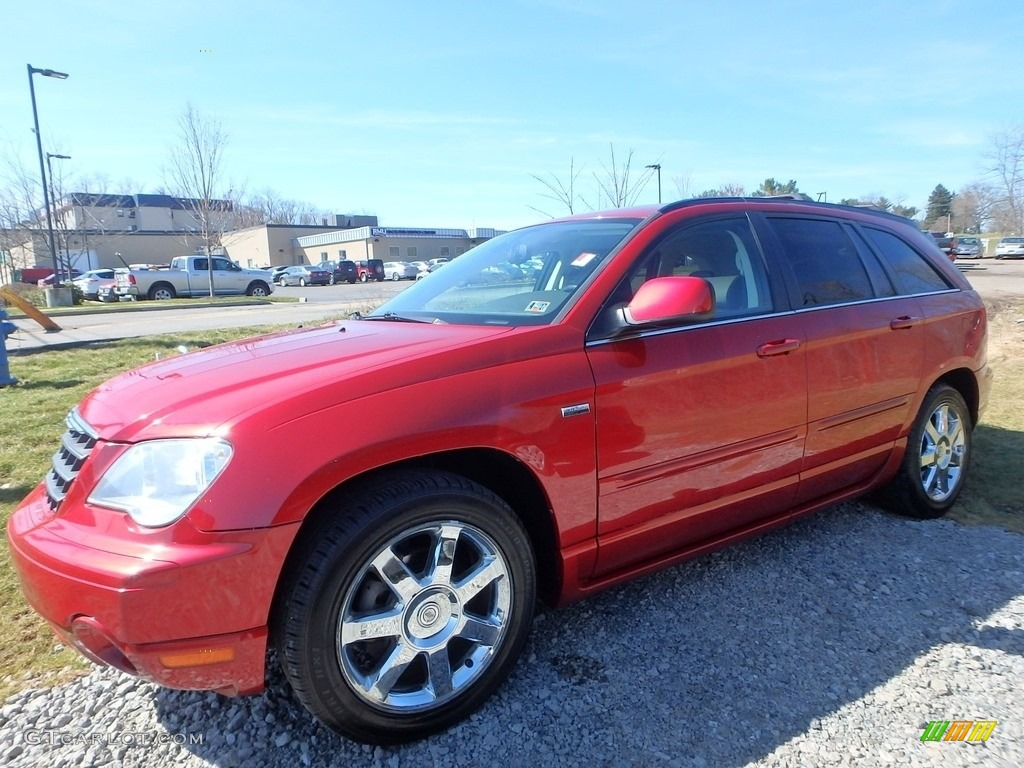 2008 inferno red crystal pearlcoat chrysler pacifica touring awd 119408237 photo 3 gtcarlot. Black Bedroom Furniture Sets. Home Design Ideas