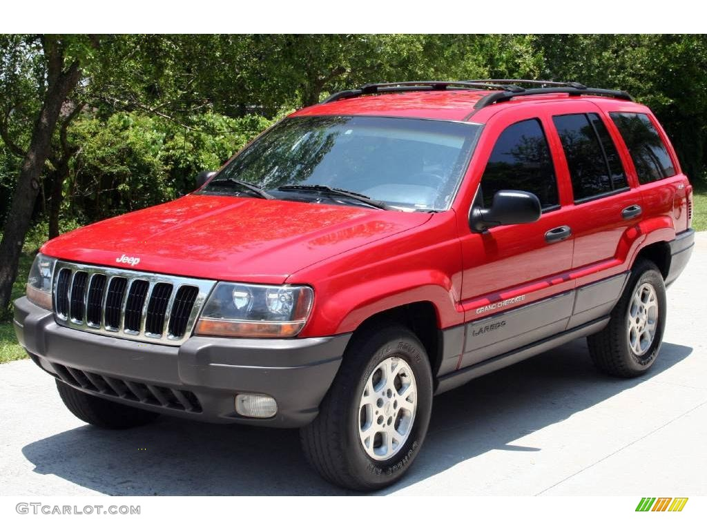 Flame Red Jeep Grand Cherokee