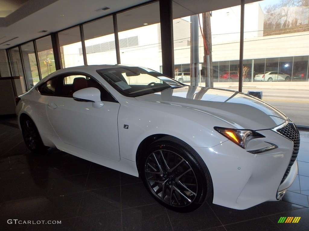 2017 Ultra White Lexus Rc 300 F Sport Awd 119435898 Photo 7 Car Color Galleries