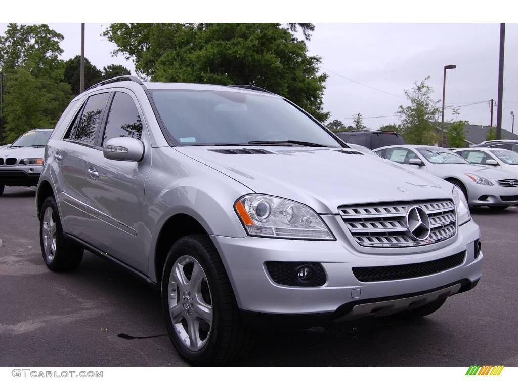 2007 iridium silver metallic mercedes benz ml 350 4matic for 2007 mercedes benz ml350 4matic