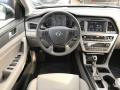 Gray Dashboard Photo for 2017 Hyundai Sonata #119452575