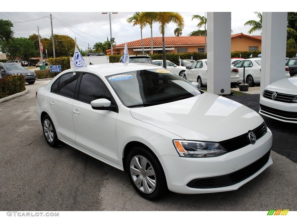2014 pure white volkswagen jetta se sedan 119435744 photo. Black Bedroom Furniture Sets. Home Design Ideas