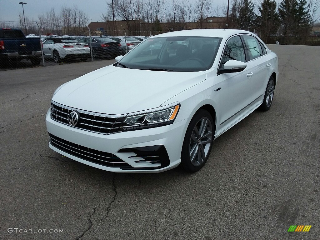 2017 pure white volkswagen passat r line sedan 119464099. Black Bedroom Furniture Sets. Home Design Ideas