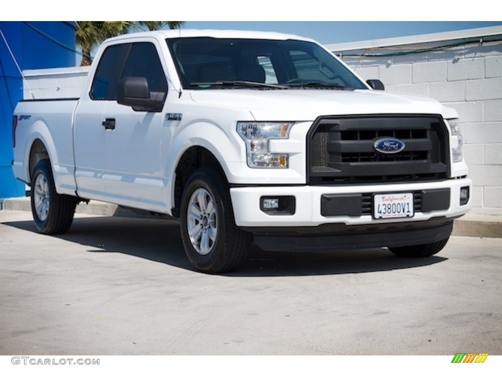 2015 oxford white ford f150 xl supercab 119481021 car color galleries. Black Bedroom Furniture Sets. Home Design Ideas