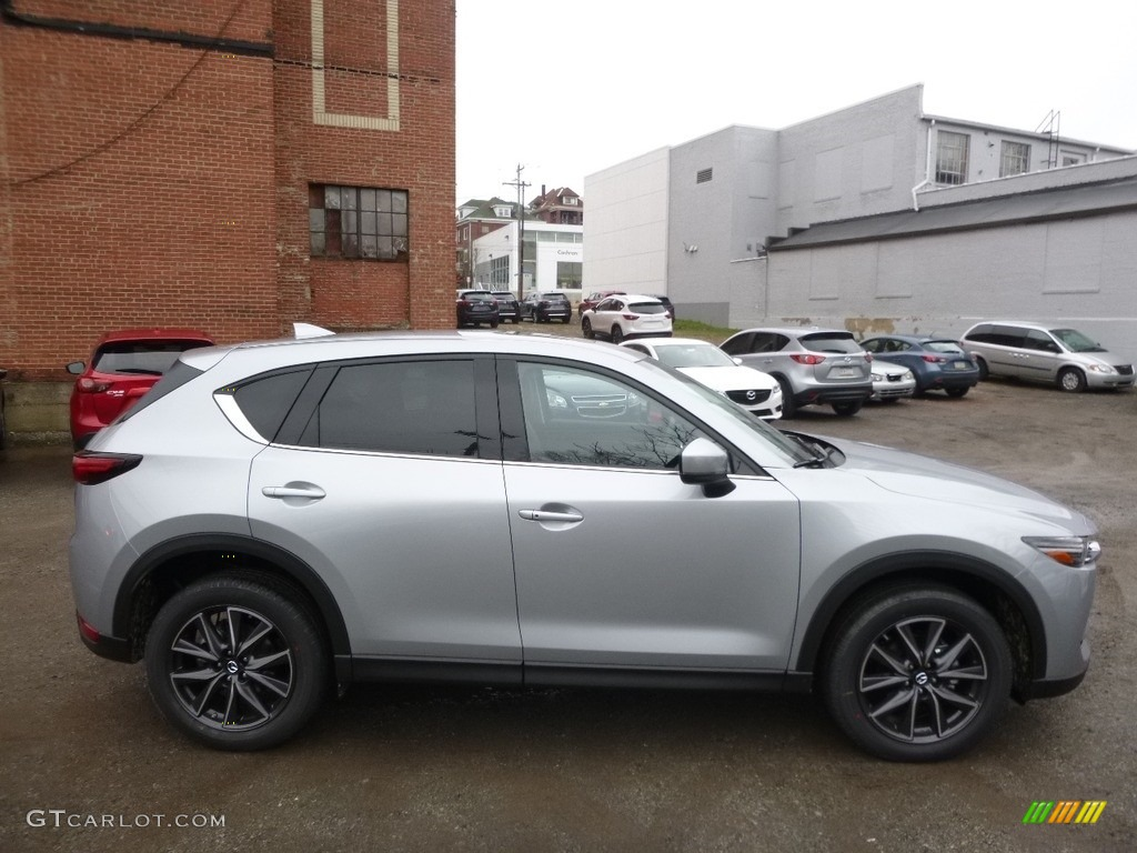 2017 Sonic Silver Metallic Mazda Cx 5 Grand Touring Awd 119503119 Photo 2 Gtcarlot Com Car