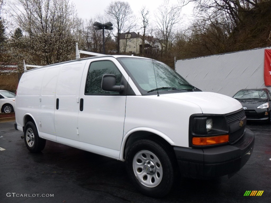2012 summit white chevrolet express 1500 cargo van. Black Bedroom Furniture Sets. Home Design Ideas