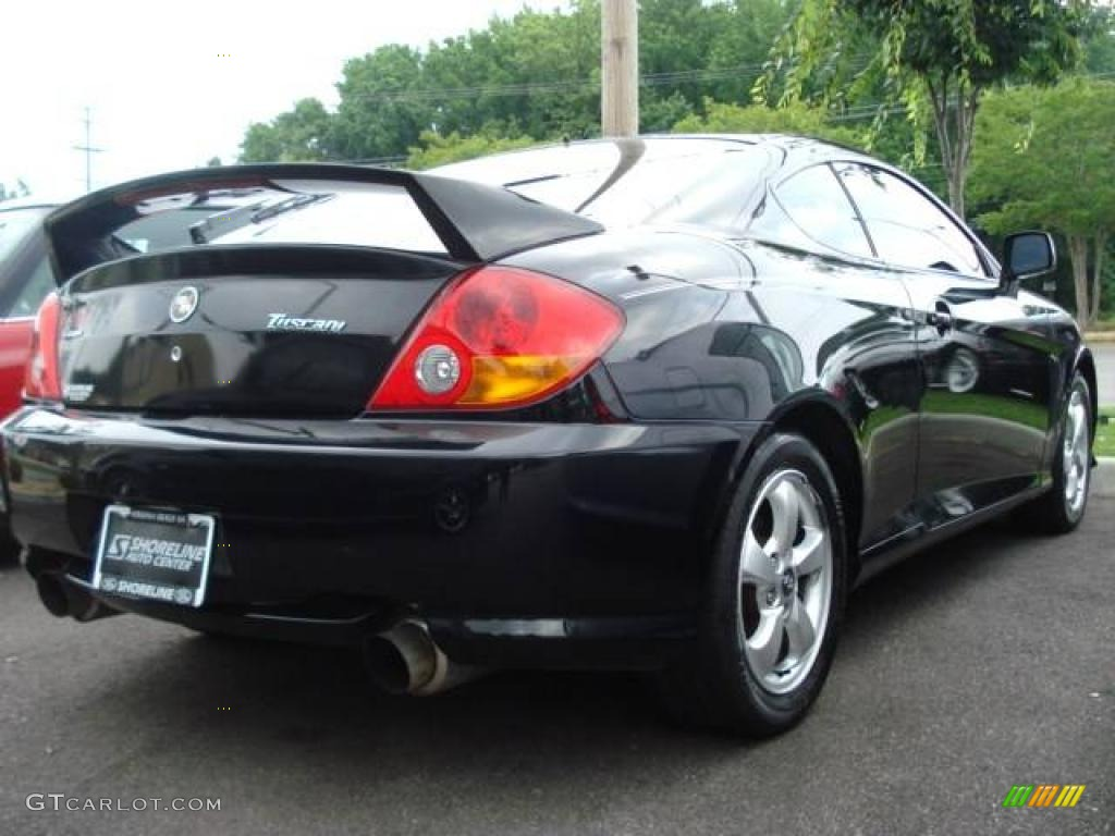 2003 Tiburon Tuscani 2 7 Elisa Gt Supercharged Jet Black Photo 3