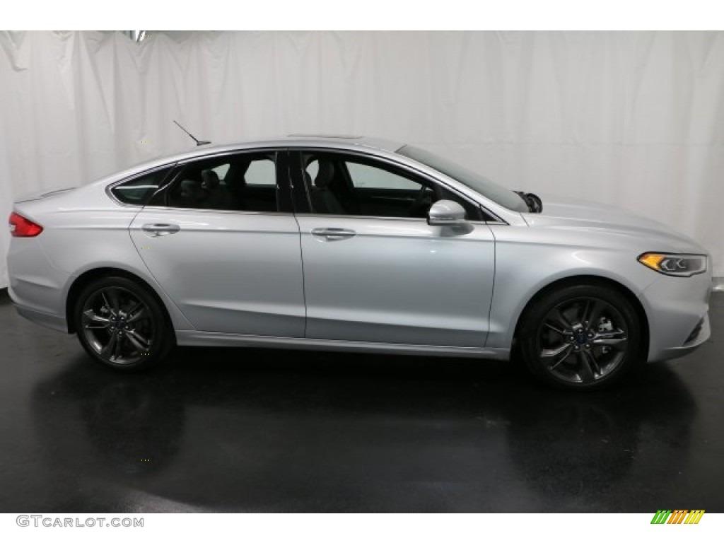Ingot Silver Ford Fusion