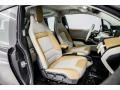 Giga Cassia Natural Leather/Carum Spice Grey Wool Cloth 2017 BMW i3 Interiors