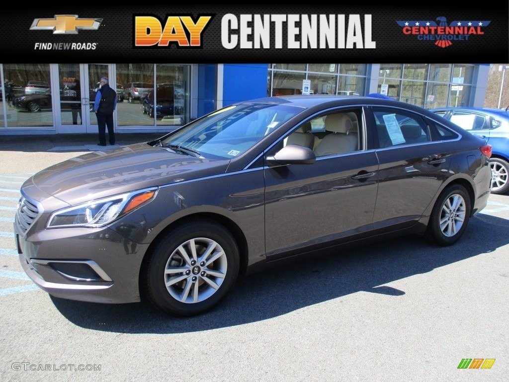 2016 Sonata Se Dark Truffle Beige Photo 1