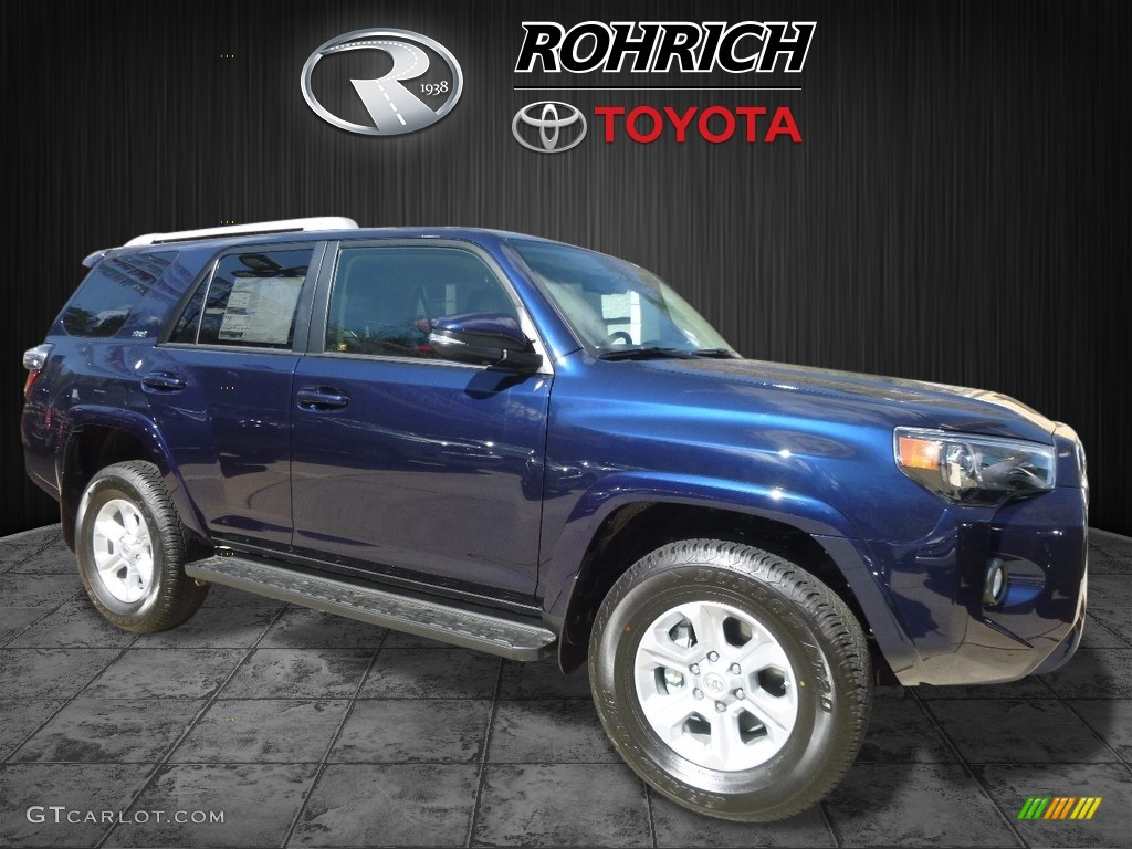 2017 nautical blue metallic toyota 4runner sr5 premium 4x4 119526113 car color. Black Bedroom Furniture Sets. Home Design Ideas
