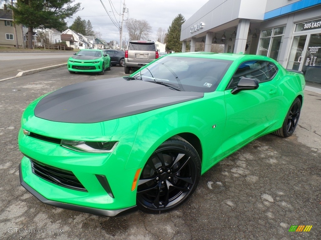 2017 krypton green chevrolet camaro lt coupe 119525814 car color galleries. Black Bedroom Furniture Sets. Home Design Ideas