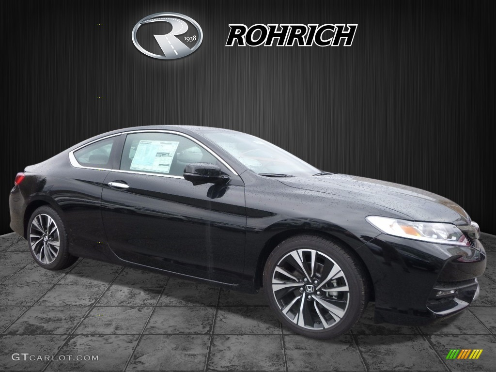 2017 Crystal Black Pearl Honda Accord EX Coupe #119553082 ...
