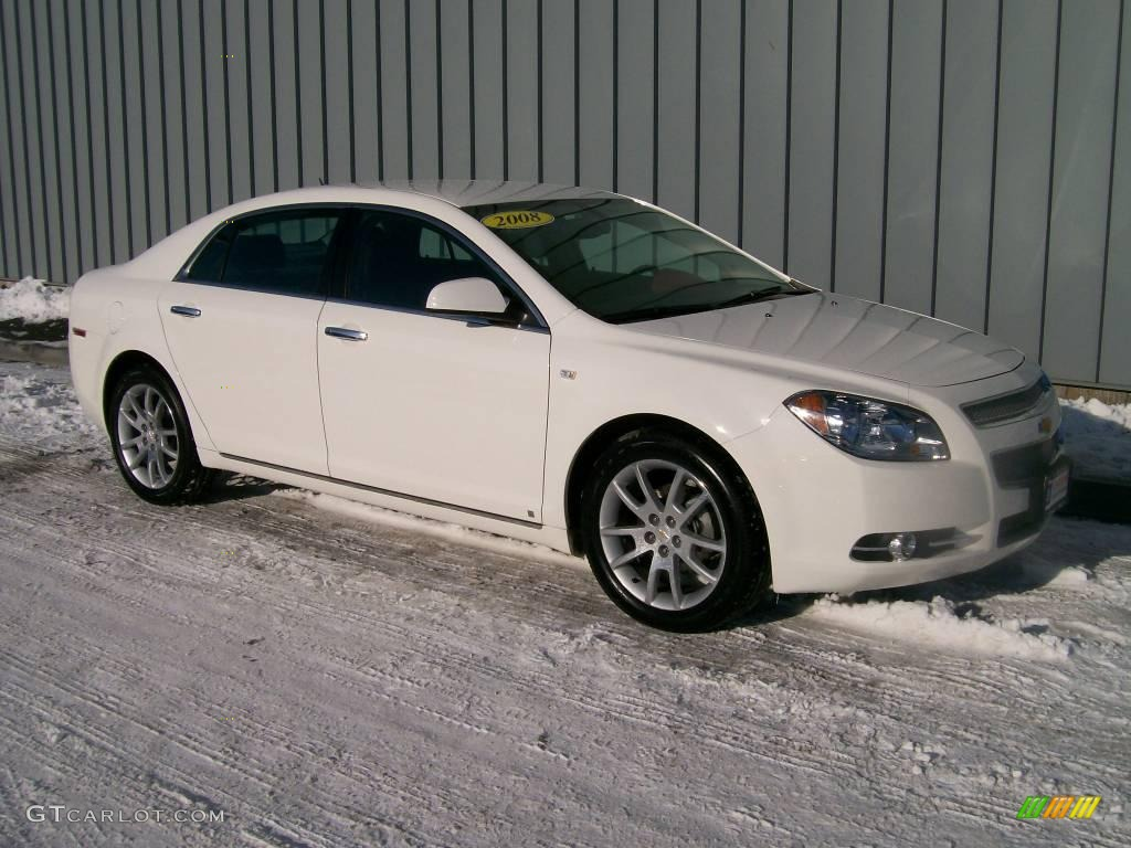 2008 white chevrolet malibu ltz sedan 1189453 car color galleries. Black Bedroom Furniture Sets. Home Design Ideas