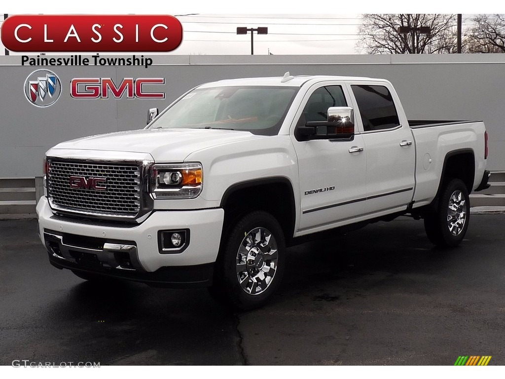 2017 summit white gmc sierra 2500hd denali crew cab 4x4 119553373 car color. Black Bedroom Furniture Sets. Home Design Ideas