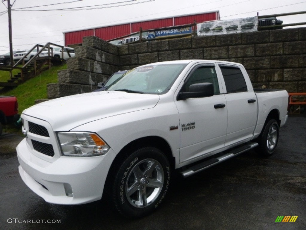 2015 bright white ram 1500 express crew cab 4x4 119577090 car color galleries. Black Bedroom Furniture Sets. Home Design Ideas