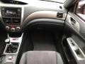 Carbon Black/Graphite Gray Alcantara Dashboard Photo for 2008 Subaru Impreza #119606244