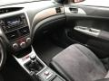 Carbon Black/Graphite Gray Alcantara Dashboard Photo for 2008 Subaru Impreza #119606361