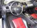 2012 Jaguar XK Red/Warm Charcoal Interior Prime Interior Photo