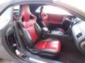 2012 Jaguar XK Red/Warm Charcoal Interior Front Seat Photo