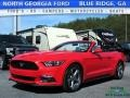 2017 Race Red Ford Mustang V6 Convertible  photo #1