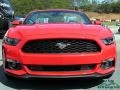 2017 Race Red Ford Mustang V6 Convertible  photo #8