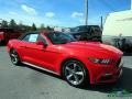 2017 Race Red Ford Mustang V6 Convertible  photo #9