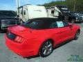 2017 Race Red Ford Mustang V6 Convertible  photo #10