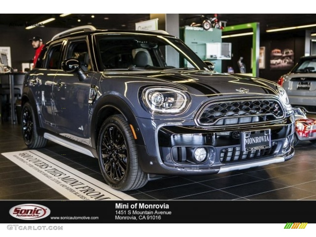2017 Thunder Grey Metallic Mini Countryman Cooper S All4 119602612