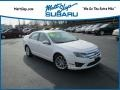 2010 White Platinum Tri-coat Metallic Ford Fusion SEL #119603135