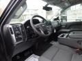 Jet Black Interior Photo for 2017 Chevrolet Silverado 2500HD #119690472