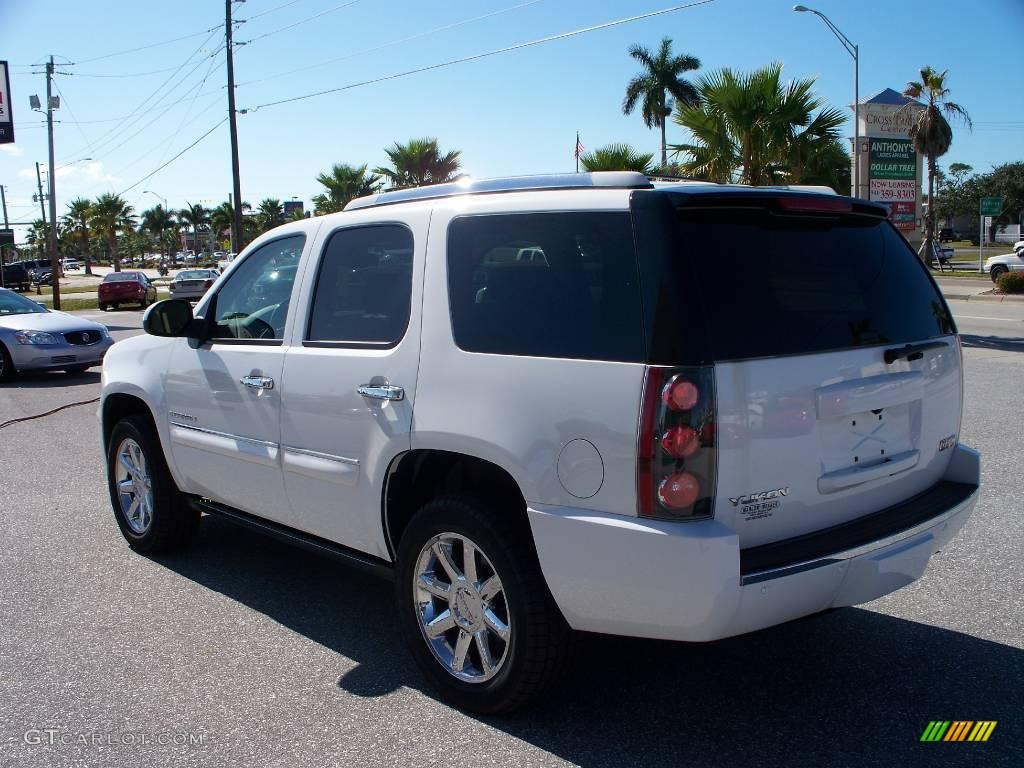 2008 yukon denali summit white cocoa light cashmere photo 1