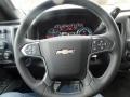 Jet Black Steering Wheel Photo for 2017 Chevrolet Silverado 2500HD #119690655