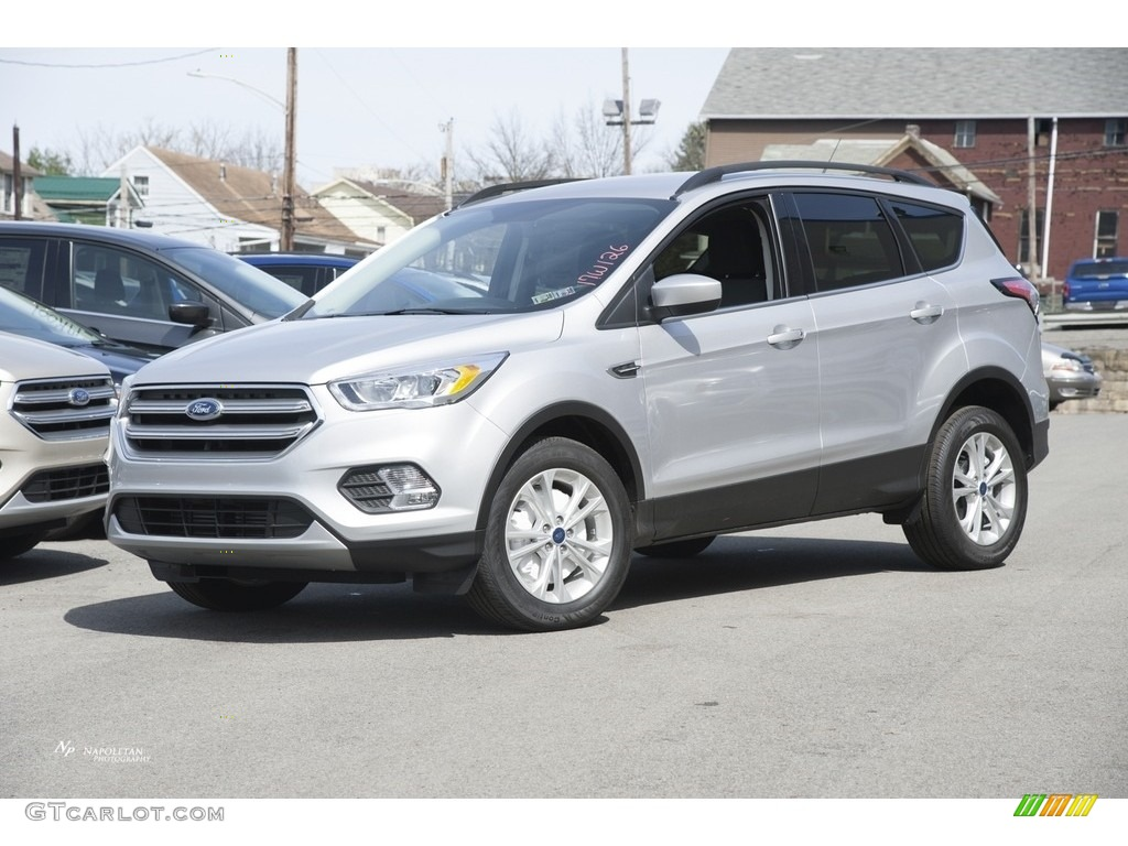 2017 Ingot Silver Ford Escape Se 4wd 119604142 Photo 11