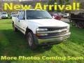 Summit White 2000 Chevrolet Silverado 1500 LS Extended Cab 4x4