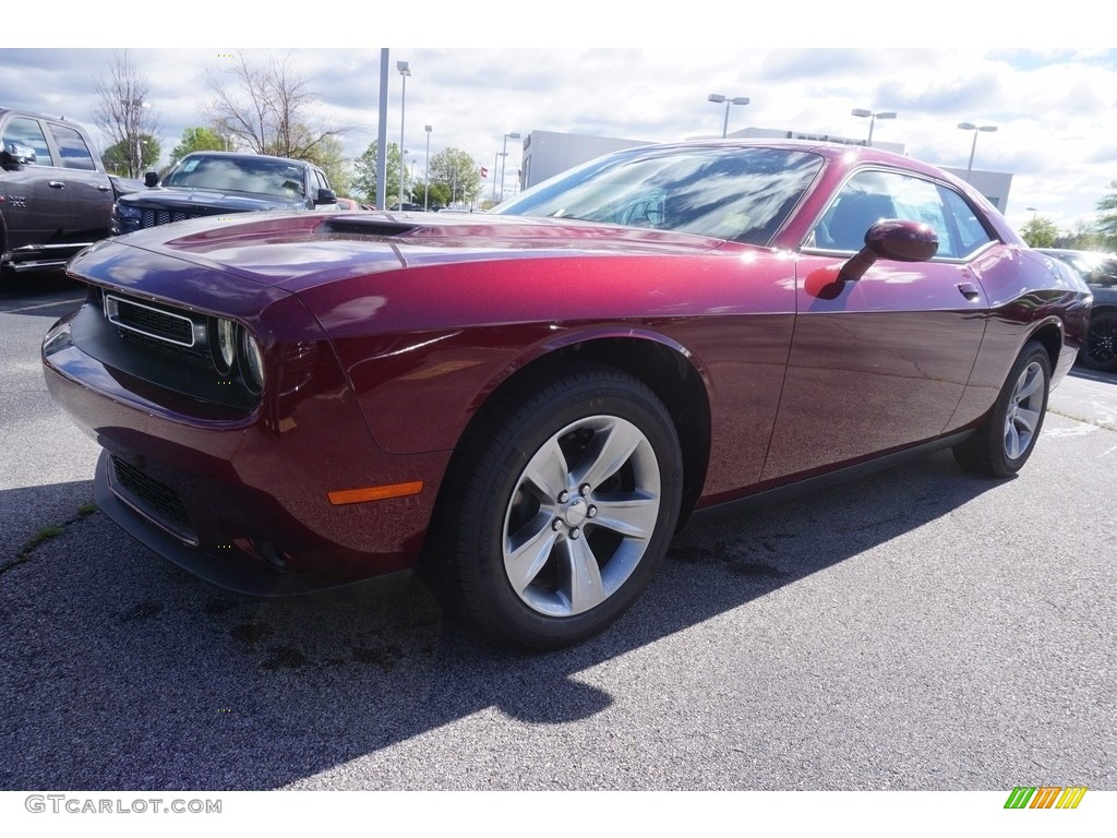 2017 Octane Red Dodge Challenger SXT #119604102 | GTCarLot ...