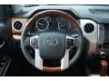 2017 Toyota Tundra 1794 Edition Black/Brown Interior Steering Wheel Photo