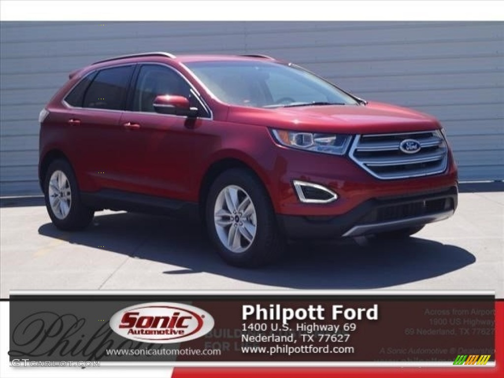 2017 ruby red metallic ford edge sel 119719652 car color galleries. Black Bedroom Furniture Sets. Home Design Ideas