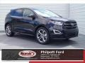Shadow Black 2017 Ford Edge Sport AWD