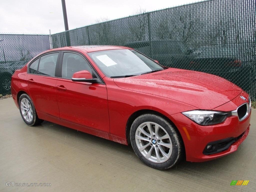 Melbourne Red Metallic BMW 3 Series