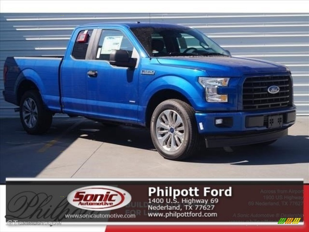 2017 lightning blue ford f150 xl supercab 119719726 car color galleries. Black Bedroom Furniture Sets. Home Design Ideas