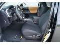 Black/Caramel 2017 Toyota Tacoma Interiors