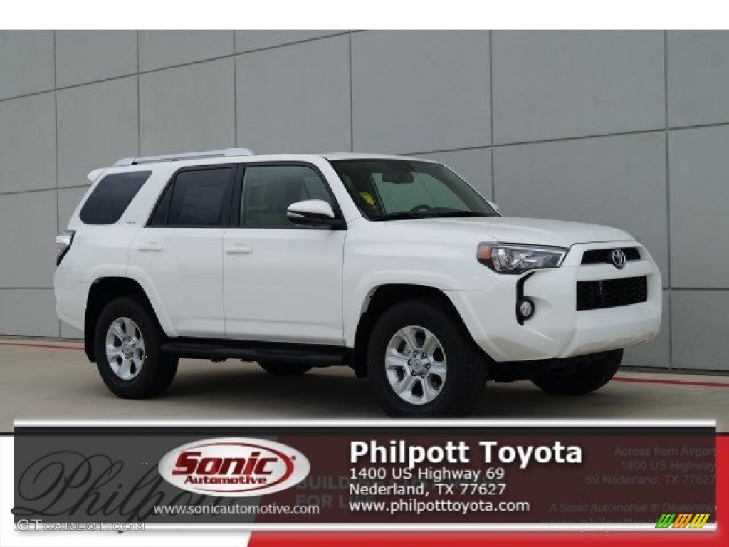 2017 super white toyota 4runner sr5 premium 119719636 photo 11 car color. Black Bedroom Furniture Sets. Home Design Ideas