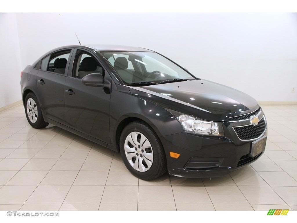 2014 Black Granite Metallic Chevrolet Cruze Ls 119719919 Photo 3 Car Color